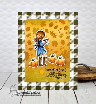 Pumpkin Latte Stamp Set ©2019 Newton's Nook Designs