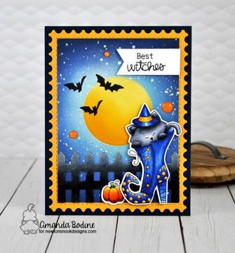 Witchy Newton Stamp Set ©2019 Newton's Nook Designs