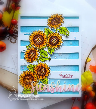 Sunflower Days Stamp Set ©2019 Newton's Nook Designs