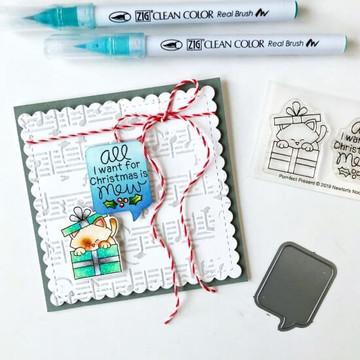 Purr-fect Present Stamp Set ©2019 Newton's Nook Designs