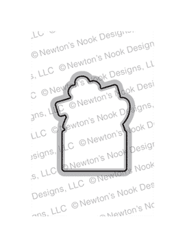 Purr-fect Present Die Set ©2019 Newton's Nook Designs