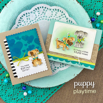 Puppy Playtime Stamp Set ©2020 Newton's Nook Designs
