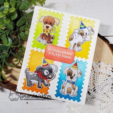 Puppy Playtime Stamp Set ©2020 Newton's Nook Designs