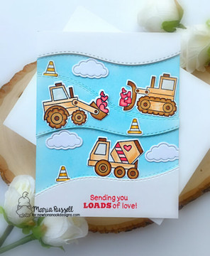 Love Quarry Stamp Set ©2020 Newton's Nook Designs