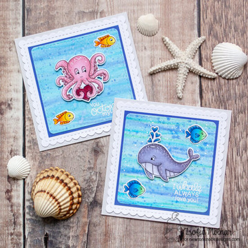 Tides of Love Stamp Set ©2020 Newton's Nook Designs
