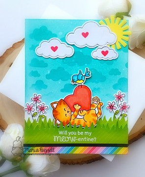 Newton's Valentine Stamp Set ©2020 Newton's Nook Designs