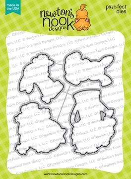 Hop Into Spring Die Set ©2020 Newton's Nook Designs