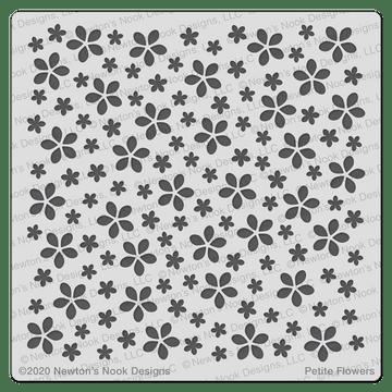 Petite Flowers Stencil ©2020 Newton's Nook Designs