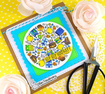 Birthday Roundabout Stamp Set ©2020 Newton's Nook Designs