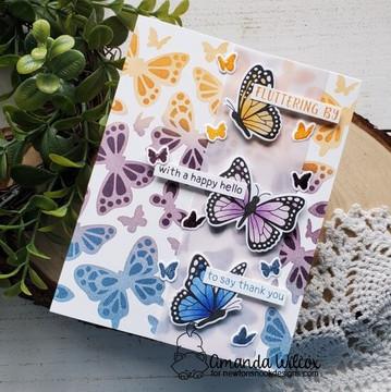 Butterflies Stencil Set