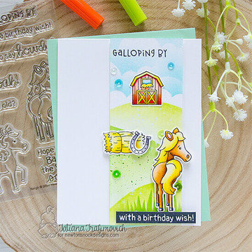 Neigh Stamp Set ©2020 Newton's Nook Designs