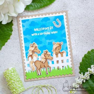 Neigh Stamp Set ©2020 Newton's Nook Designs