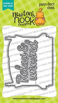 Porch Swing Friends Die Set ©2020 Newton's Nook Designs