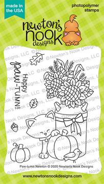 Paw-tumn Newton Stamp Set ©2020 Newton's Nook Designs