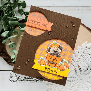 Pug-kin Stamp Set ©2020 Newton's Nook Designs
