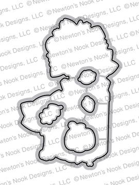 Paw-tumn Newton Die Set ©2020 Newton's Nook Designs
