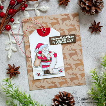 Reindeer Stencil ©2020 Newton's Nook Designs