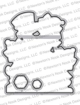 Newton's Snowman Die Set ©2020 Newton's Nook Designs