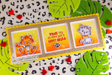Smitten Kittens Stamp Set ©2021 Newton's Nook Designs