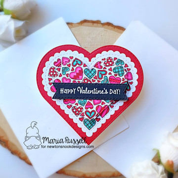 Heartfelt Love Stamp Set ©2021 Newton's Nook Designs
