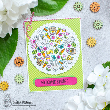 Spring Roundabout Stamp Set ©2021 Newton's Nook Designs