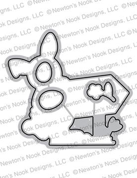 Hoppy Greetings Die Set ©2021 Newton's Nook Designs