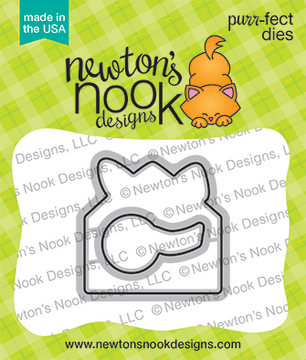 Hare Mail Die Set ©2021 Newton's Nook Designs