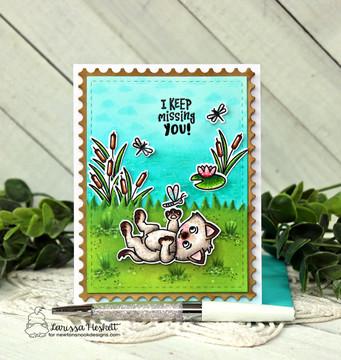 Captivated Kittens Stamp Set ©2021 Newton's Nook Designs