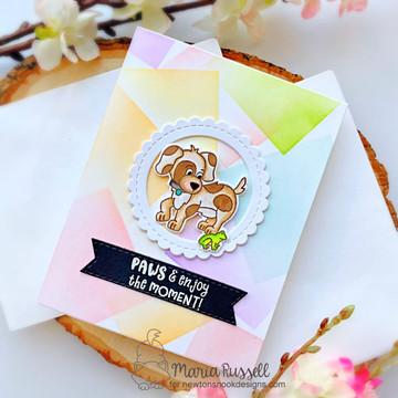 Puppy Friends Stamp Set ©2021 Newton's Nook Designs