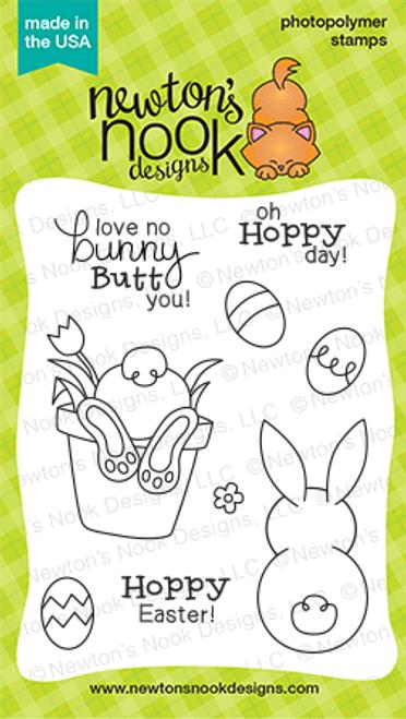 Bunny Hop   3x4 Photopolymer Stamp Set   ©2015 Newton's Nook Designs