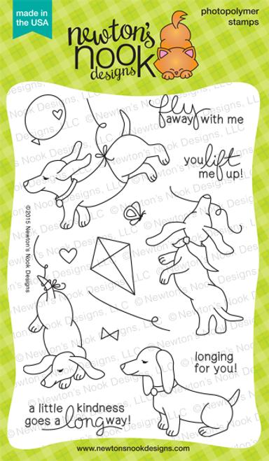 Delightful Doxies   4x6 Photopolymer Stamp Set   © 2015 Newton's Nook Designs