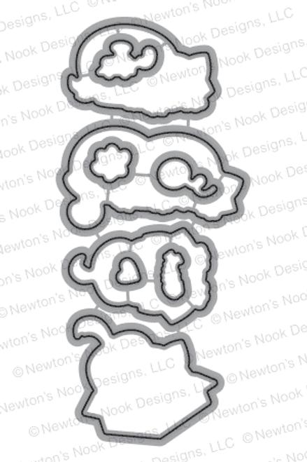 Newton's Antics | Die Set | ©2015 Newton's Nook Designs