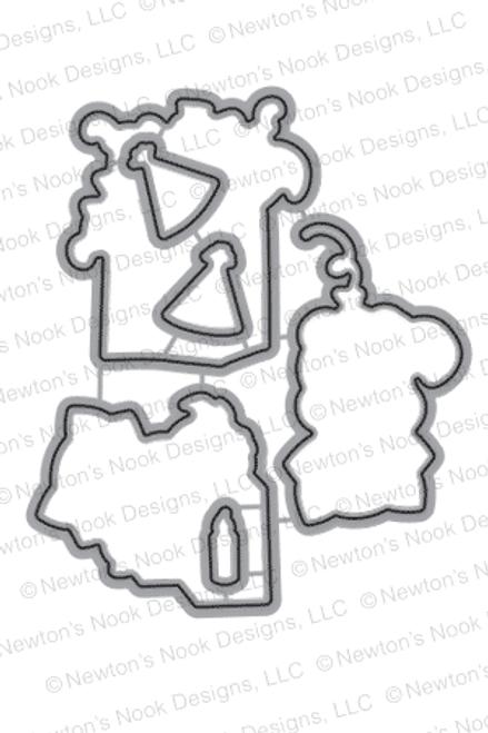 Newton's Birthday Bash | Die Set | ©2015 Newton's Nook Designs