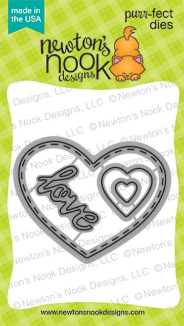 Darling Hearts Die Set ©2016 Newton's Nook Designs