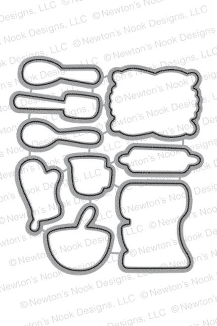 Made from Scratch | Die Set | ©2016 Newton's Nook Designs