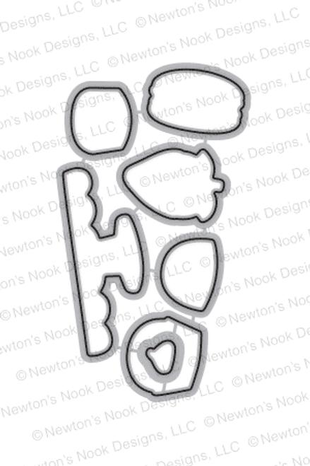 Love & Chocolate Die Set ©2017 Newton's Nook Designs