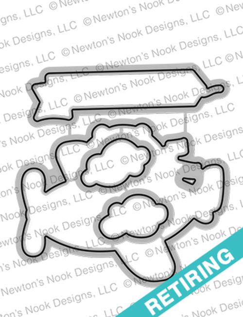 Winston Takes Flight Die Set ©2017 Newton's Nook Designs