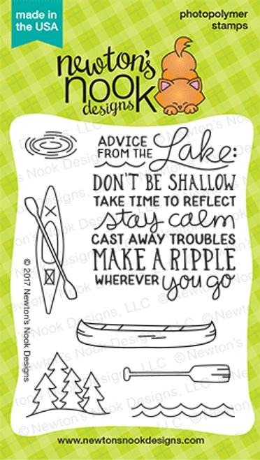 Lake Advice Stamp Set ©2017 Newton's Nook Designs