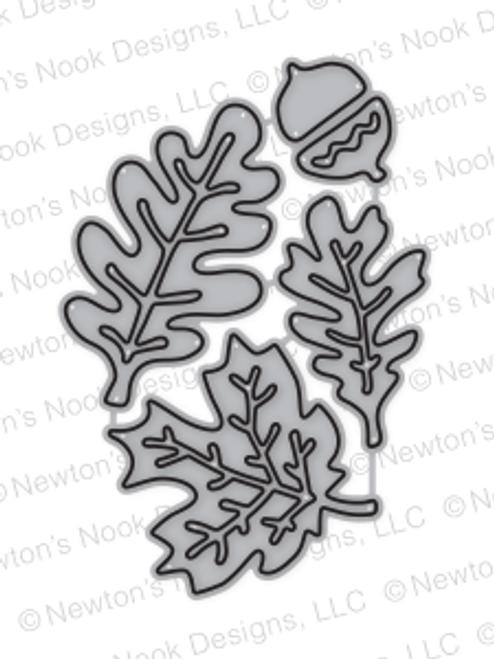 Autumn Leaves  Die Set ©2017 Newton's Nook Designs