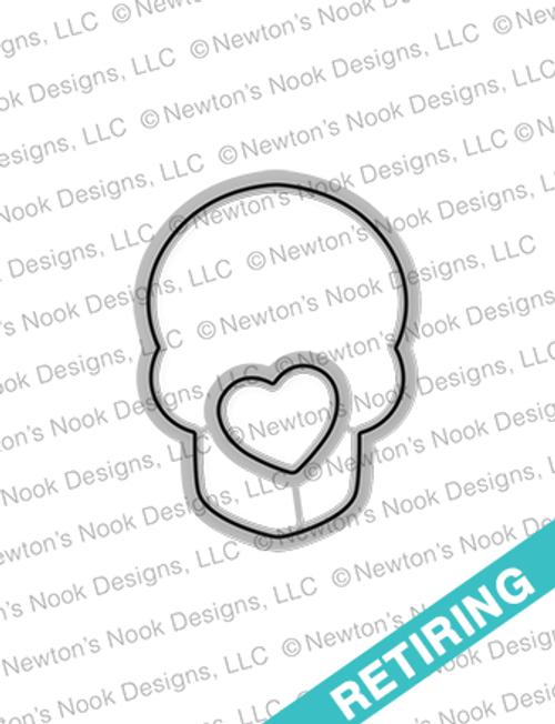 Beautiful Bones Die Set ©2017 Newton's Nook Designs