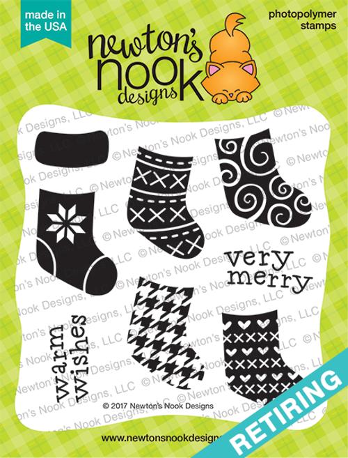 Stylish Stockings Stamp Set ©2017 Newton's Nook Designs