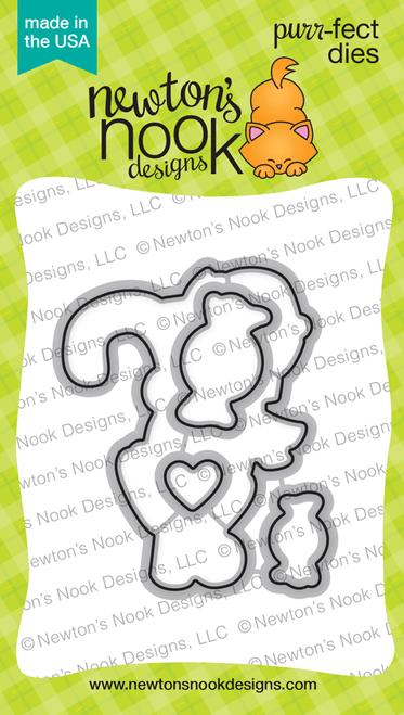 Newton's Candy Cane Die Set ©2017 Newton's Nook Designs
