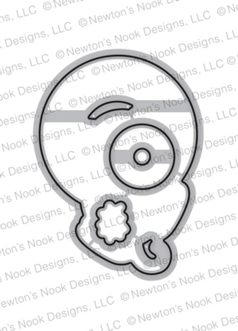 Newton's Donut Die Set ©2018 Newton's Nook Designs