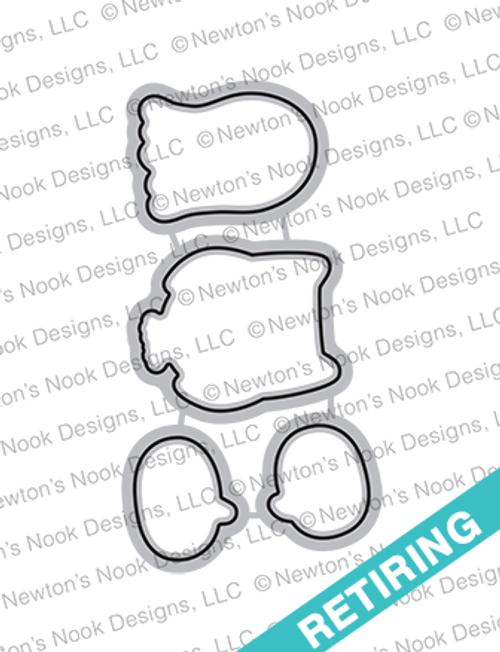 Boo Hoo Die Set ©2018 Newton's Nook Designs