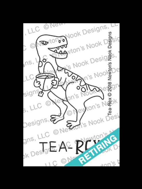 Tea Rex Stamp Set ©2018 Newton's Nook Designs