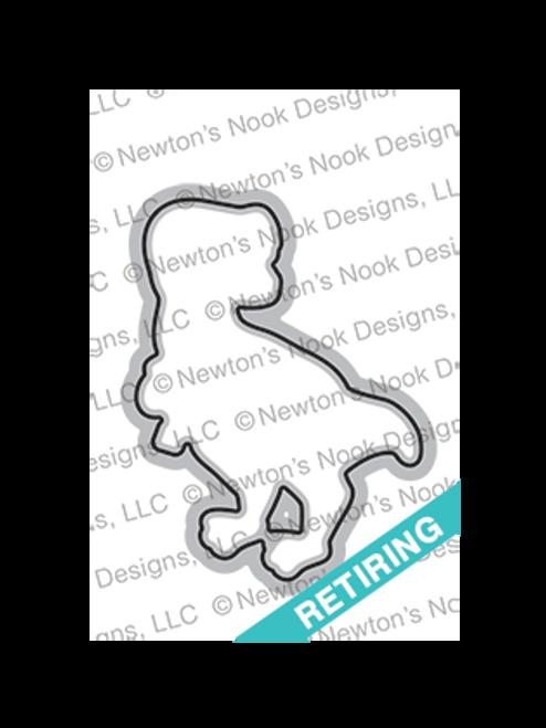 Tea Rex Die Set ©2018 Newton's Nook Designs