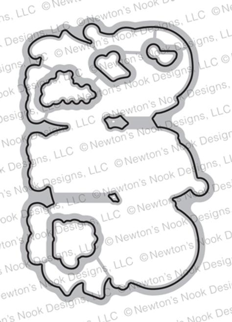 Caroling Newton Die Set ©2018 Newton's Nook Designs