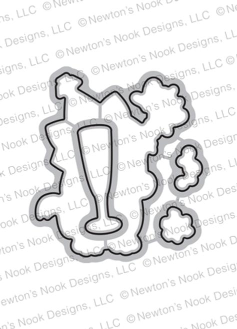 Newton's New Year Die Set ©2018 Newton's Nook Designs