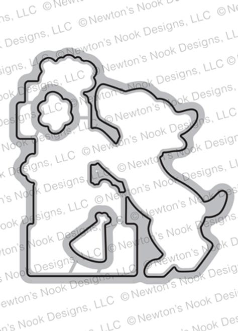 Paw-some Birthday Die Set ©2019 Newton's Nook Designs