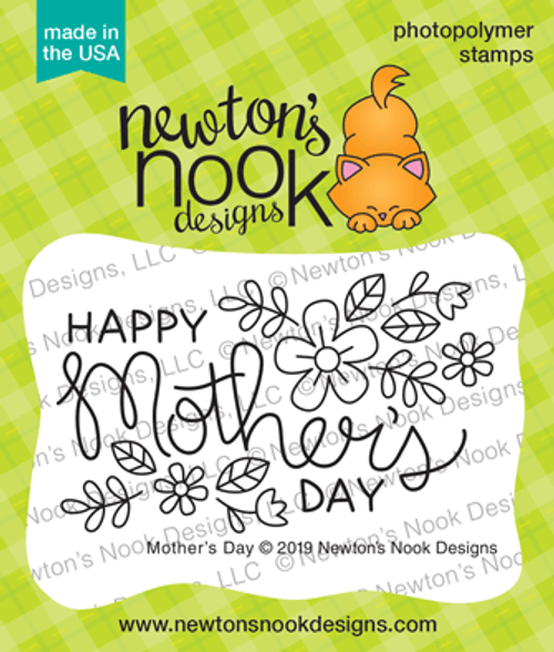 Mother's Day Stamp Set ©2019 Newton's Nook Designs